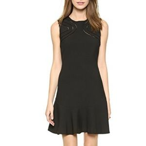 DVF Maureen Embroidery Cut Out Suit Dress, 2 XS